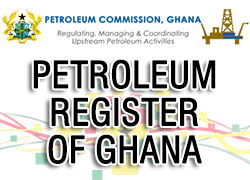 Petroleum Register of Ghana